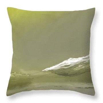 Eastern Sierra Sunrise Throw Pillow