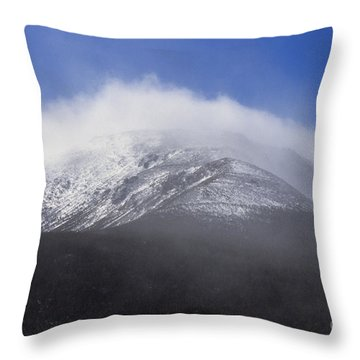 Eastern Slopes Of Mount Washington New Hampshire Usa Throw Pillow