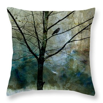 Eastward Throw Pillow by Carol Leigh