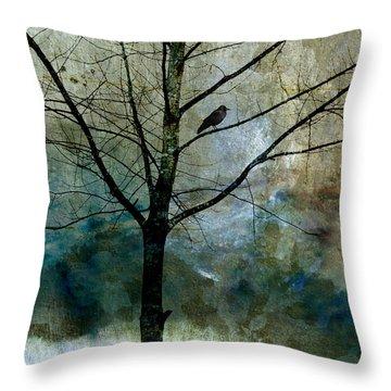 Eastward Throw Pillow by Carol Leigh
