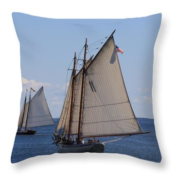 Eastward Throw Pillow