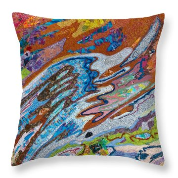 Eastward Ho Throw Pillow
