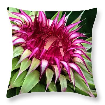 Easy To Slip Throw Pillow