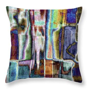Eccentric Spirit Throw Pillow by Tlynn Brentnall