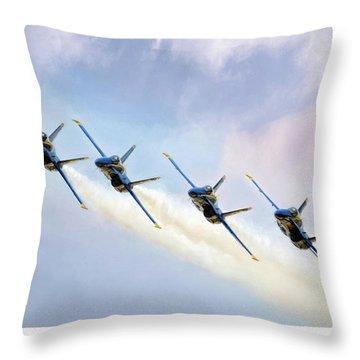 A-18 Hornet Throw Pillows