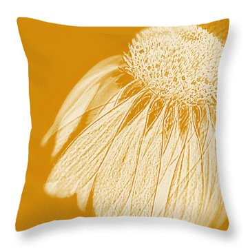 Echinacea Throw Pillow by Linde Townsend