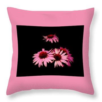 Echinacea Pop Throw Pillow