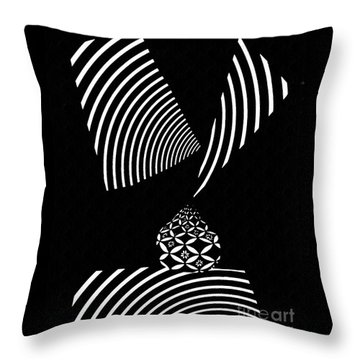Echo In Time Throw Pillow by Sarah Loft