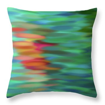 Echo Throw Pillow by Tom Druin