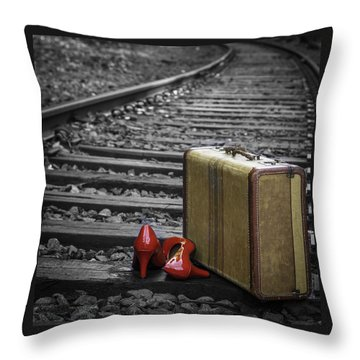 Echoes Of A Past Life Throw Pillow