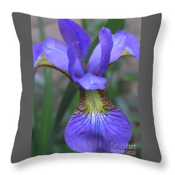 Ec Iris Throw Pillow
