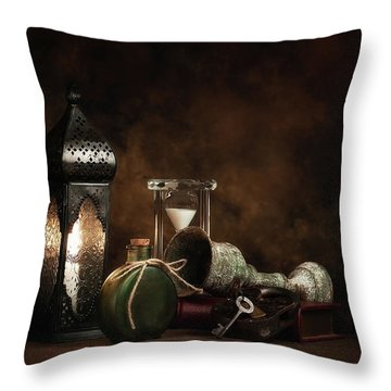 Throw Pillow featuring the photograph Eclectic Ensemble by Tom Mc Nemar