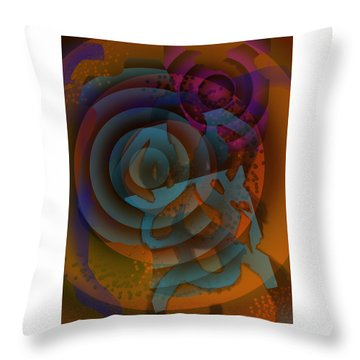 Eclectic Soul Zone Throw Pillow
