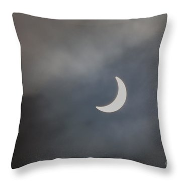 Eclipse 2015 - 2 Throw Pillow