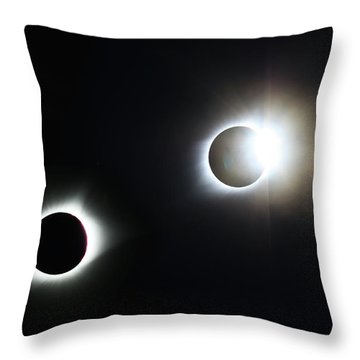 Totality Awesome Throw Pillow