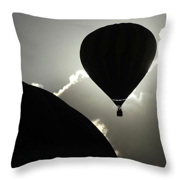 Eclipse Throw Pillow by Marie Leslie