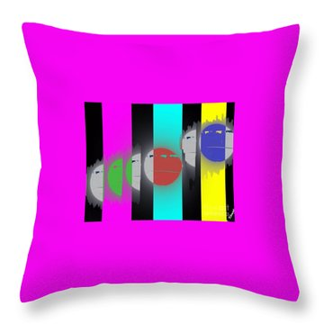 Eclipse Of Love Throw Pillow