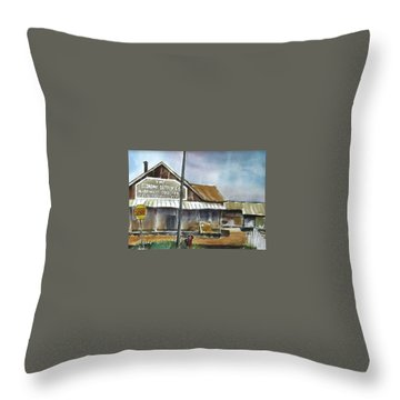 Economy Supply Throw Pillow