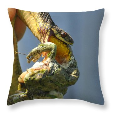 Ecosystem Throw Pillow