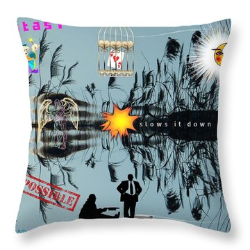 Ecstasy Throw Pillow