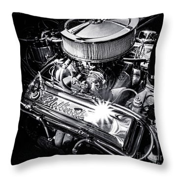 V8 Engine Throw Pillows