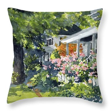 Edenton Floral Throw Pillow