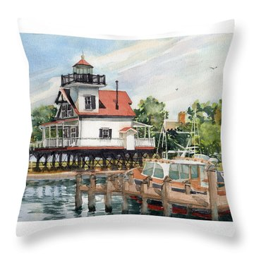 Edenton Sentinel Throw Pillow