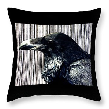 Edgar Throw Pillow