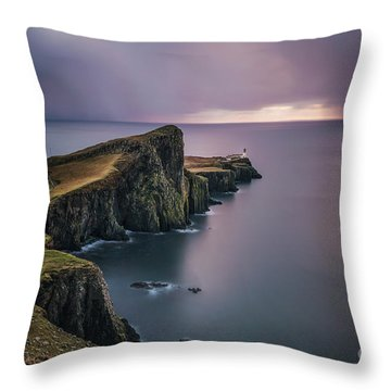 British Isles Throw Pillows