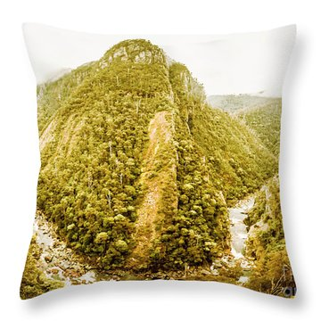 Edge Of Wilderness Throw Pillow