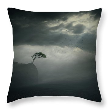 Edge Throw Pillow