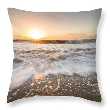 Edisto Island Sunrise Throw Pillow