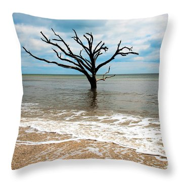 Edisto Island Tree Throw Pillow
