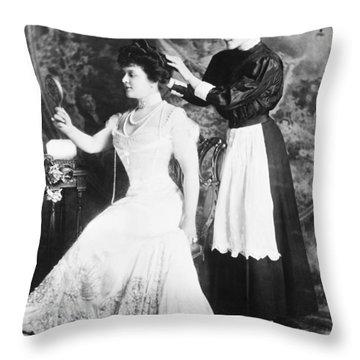 Edith M. Kingdon (1864-1921) Throw Pillow