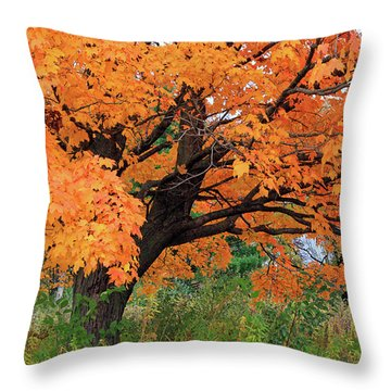 Edna's Tree Throw Pillow