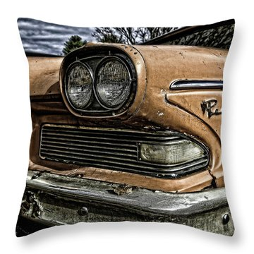Edsel Ford's Namesake Throw Pillow