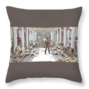 ...effect Throw Pillow