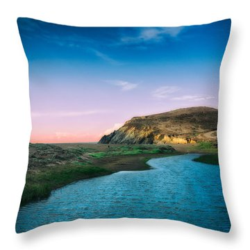 Effect Of Dreams Throw Pillow