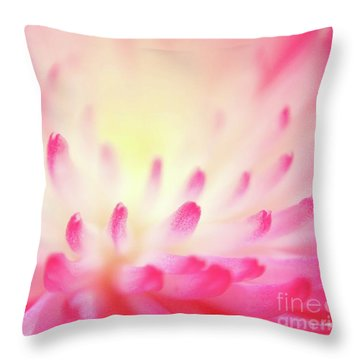 Effervescence Throw Pillow by Aimelle