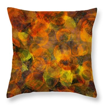 Effervescent Ties Throw Pillow