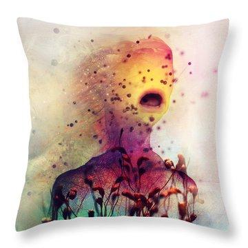 Eg Anda Throw Pillow