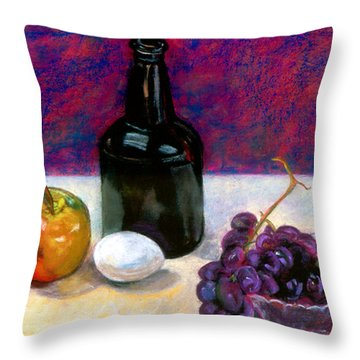 Egg And Company  Throw Pillow