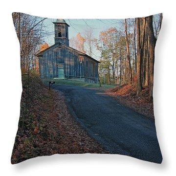 Egg Hill Church  Throw Pillow