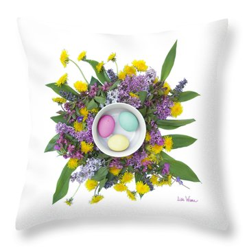 Eggs In A Bowl Throw Pillow