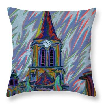 Eglise Onze - Onze Throw Pillow