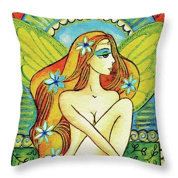 Egyptian Fairy I Throw Pillow
