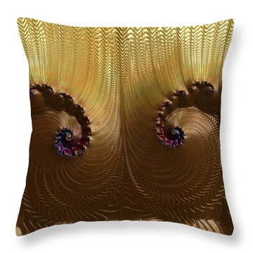Egyptian God Throw Pillow