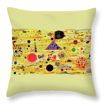 Egyptian Sunrise Throw Pillow