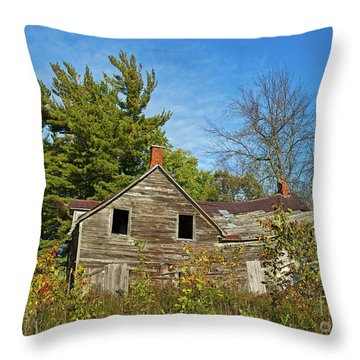 Throw Pillow featuring the photograph Eidolic.. by Nina Stavlund