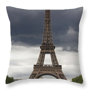 Eiffel Tower. Paris Throw Pillow